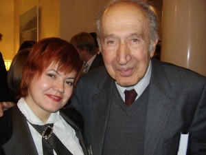 Marina Romanova and Richard Pipes